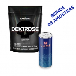 Dextrose Refil 1kg  + Lume Energy com  Creatina + BRINDE 8 AMOSTRAS