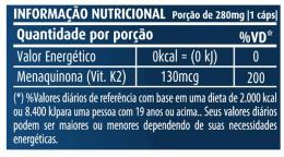 Vitamina K2 280mg (60 caps)