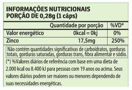 Zinco Vegan 280mg (60 caps)